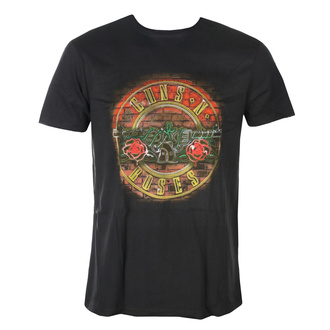 tee-shirt métal pour hommes Guns N' Roses - NEON SIGN - AMPLIFIED, AMPLIFIED, Guns N' Roses