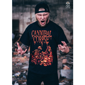 tee-shirt métal pour hommes Cannibal Corpse - PILE OF SKULLS - PLASTIC HEAD, PLASTIC HEAD, Cannibal Corpse