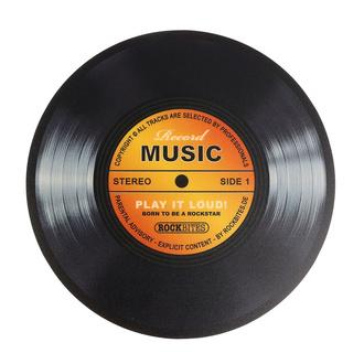 Tapis de souris Record music - Gold - ROCKBITES, Rockbites