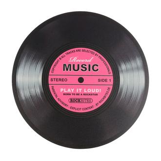Tapis de souris Record music - Pink - ROCKBITES, Rockbites