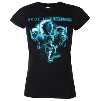 T-shirt Rolling Stones pour femmes - Band Glow - ROCK OFF, ROCK OFF, Rolling Stones