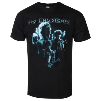 T-shirt Rolling Stones pour hommes - Band Glow - ROCK OFF, ROCK OFF, Rolling Stones