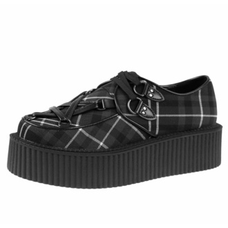 Chaussures pour femmes KILLSTAR - Hexellent Creepers - ASH TARTAN, KILLSTAR