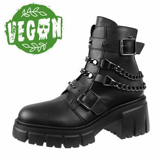 Chaussures pour femmes ALTERCORE - Virgo - Noir vegan, ALTERCORE