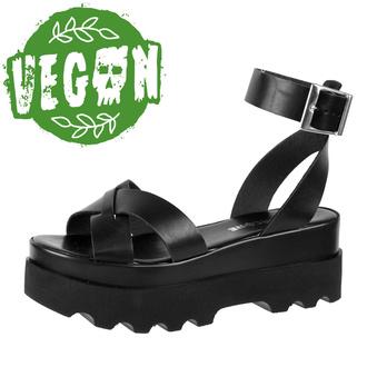 Chaussures (sandales) pour femmes ALTERCORE - Zoe - Noir, ALTERCORE