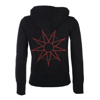aux femmes sweat à capuche Slipknot - 9-Point Star Back - ROCK OFF, ROCK OFF, Slipknot