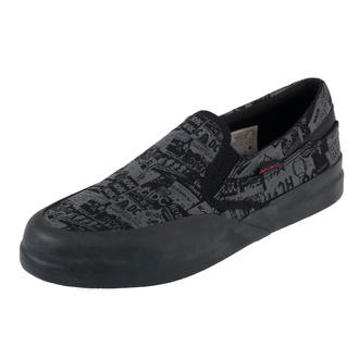 Chaussures pour enfants DC - AC / DC - TNT. - SLIP ON - NOIR, DC, AC-DC