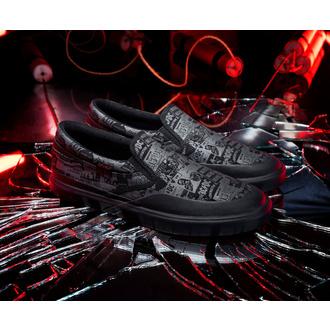 Chaussures DC - AC / DC - TNT. - SLIP ON - NOIR, DC, AC-DC