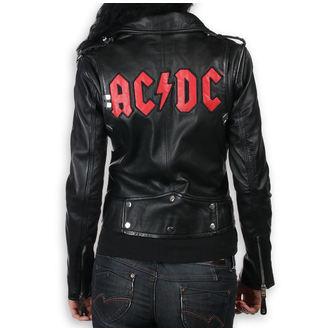 veste en cuir pour femmes AC-DC - LNTC Black - NNM, NNM, AC-DC