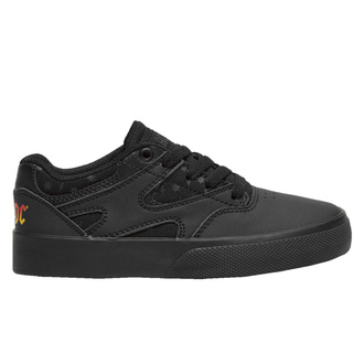 Chaussures pour femmes DC - AC / DC - BACK IN BLACK - NOIR / NOIR / NSP GRIS, DC, AC-DC