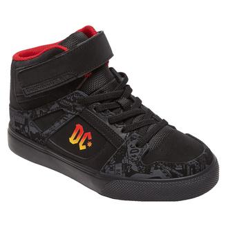 Enfants chaussures DC - AC / DC - TNT. - HIGH TOP - NOIR GRADIENT , DC, AC-DC