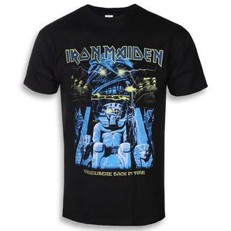 tee-shirt métal pour hommes Iron Maiden - Back In Time Mummy - ROCK OFF, ROCK OFF, Iron Maiden