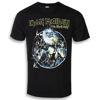 tee-shirt métal pour hommes Iron Maiden - Live After Death - ROCK OFF, ROCK OFF, Iron Maiden