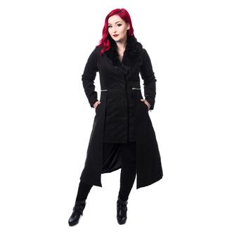 Manteau pour femmes POIZEN INDUSTRIES - ADERYN COAT - NOIR, POIZEN INDUSTRIES