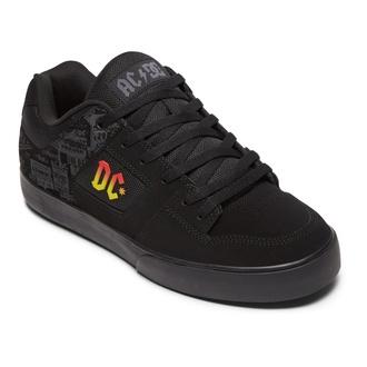 Chaussures DC - AC / DC - TNT. - NOIR / NSP GRIS, DC, AC-DC