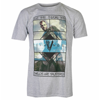 T-shirt pour hommes VIKINGS - AXE TIME - PLASTIC HEAD - PH9497