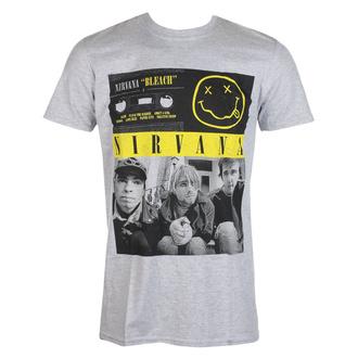 T-shirt Nirvana pour hommes - Bleach Cassettes - ROCK OFF, ROCK OFF, Nirvana