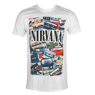 T-shirt Nirvana pour hommes - Cassettes - ROCK OFF, ROCK OFF, Nirvana