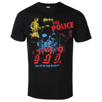tee-shirt métal pour hommes Police - POLICE IN CONCERT - LIQUID BLUE, LIQUID BLUE, Police