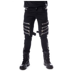 Pantalon hommes HEARTLESS - AINO - NOIR, HEARTLESS