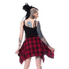 Robe femmes Chemical black - ALEXANDRA - NOIR / ROUGE VÉRIFIER, CHEMICAL BLACK