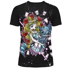 t-shirt pour femmes - ALICE CARDS - CUPCAKE CULT, CUPCAKE CULT