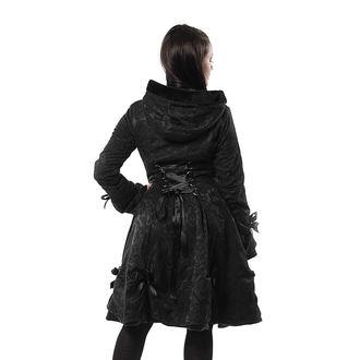Manteau pour femme POIZEN INDUSTRIES - ALICE - NOIR ROSE, POIZEN INDUSTRIES