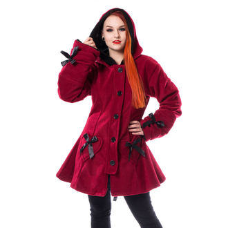 Manteau pour femme POIZEN INDUSTRIES - ALISON - ROUGE, POIZEN INDUSTRIES