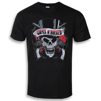 tee-shirt métal pour hommes Guns N' Roses - Distressed Skull - ROCK OFF, ROCK OFF, Guns N' Roses