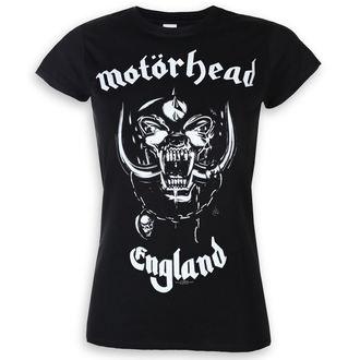 tričko dámské Motörhead - England - ROCK OFF, ROCK OFF, Motörhead