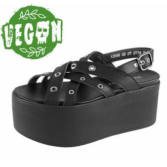 Chaussures (sandales) pour femmes ALTERCORE - Nitta Vegan - Noir, ALTERCORE