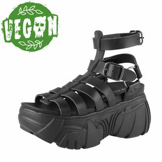 Bottes femmes (sandales) ALTERCORE - Pompéi Vegan - Noir, ALTERCORE