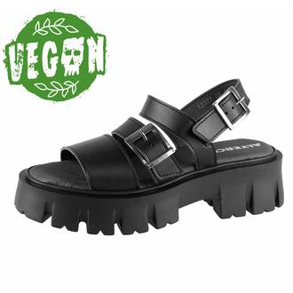 Chaussures (sandales) pour femmes ALTERCORE - Susie Vegan - Noir, ALTERCORE