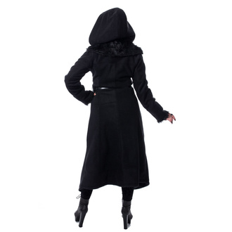 Manteau pour femmes POIZEN INDUSTRIES - AMBELIN - NOIR, POIZEN INDUSTRIES