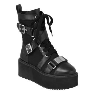 chaussures pour femmes KILLSTAR - Amplified - Noir, KILLSTAR