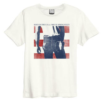 tee-shirt métal pour hommes Bruce Springsteen - BORN IN THE USA - AMPLIFIED, AMPLIFIED, Bruce Springsteen