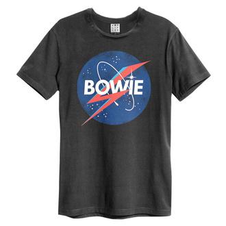 T-shirt pour hommes BOWIE - TO THE MOON - CHARBON DE BOIS - AMPLIFIED, AMPLIFIED, David Bowie