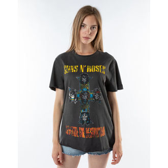 tee-shirt métal pour hommes Guns N' Roses - APPETITE FOR DESTRUCTION - AMPLIFIED, AMPLIFIED, Guns N' Roses