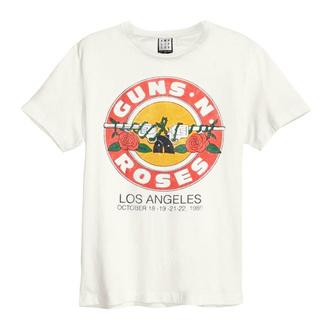 T-shirt pour hommes Guns N' Roses - VINTAGE BULLET - CRU BLANC - AMPLIFIED, AMPLIFIED, Guns N' Roses