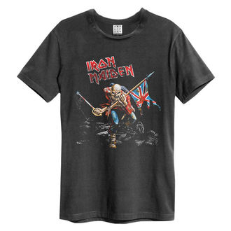 tee-shirt métal pour hommes Iron Maiden - 80S TOUR - AMPLIFIED, AMPLIFIED, Iron Maiden