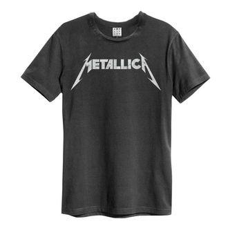 tee-shirt métal pour hommes Metallica - LOGO - AMPLIFIED, AMPLIFIED, Metallica