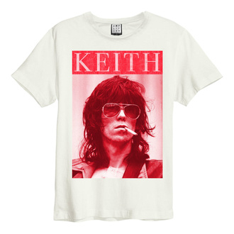 T-shirt pour hommes ROLLING STONES - KOOL KEEF - VINTAGE BLANC - AMPLIFIED, AMPLIFIED, Rolling Stones