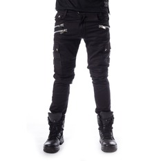 Pantalon Hommes Chemical Black - ANDERS - NOIR, CHEMICAL BLACK