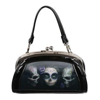 Sac à main (sac) ANNE STOKES - Day Of The Dead - Noir, ANNE STOKES