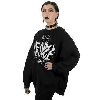 Chandail KILLSTAR pour femmes - Anti People Batwing Knit Sweater, KILLSTAR