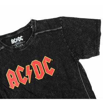 T-shirt pour homme AC/DC - Logo - Snow Wash - ROCK OFF, ROCK OFF, AC-DC