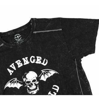 T-shirt pour homme Avenged Sevenfold - Logo - Snow Wash - ROCK OFF, ROCK OFF, Avenged Sevenfold