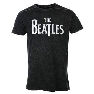 T-shirt pour homme Beatles - Drop T Logo - Snow Wash - ROCK OFF, ROCK OFF, Beatles