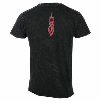 T-shirt pour homme Slipknot - Logo - Snow Wash - ROCK OFF, ROCK OFF, Slipknot