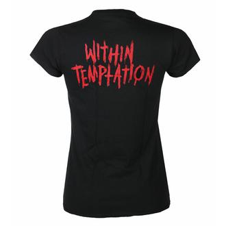 T-shirt pour femmes Within Temptation - Purge Outline - red face - ROCK OFF, ROCK OFF, Within Temptation
